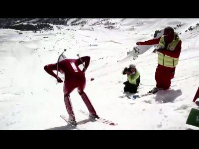 Simone Origone : recordman du monde de vitesse à ski