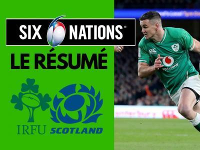 Irlande - Écosse : résumé et essais du match en vidéo