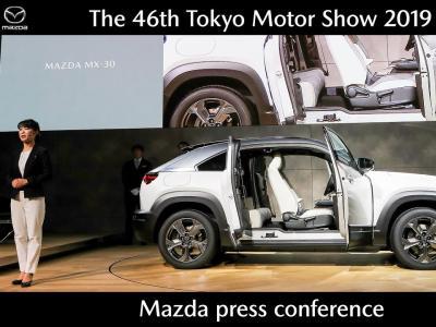 Mazda MX-30 électrique : présentation vidéo du SUV au Salon de Tokyo 2019