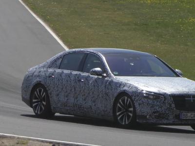 La nouvelle Mercedes-Maybach Classe S repérée en essai sur le Nürburgring