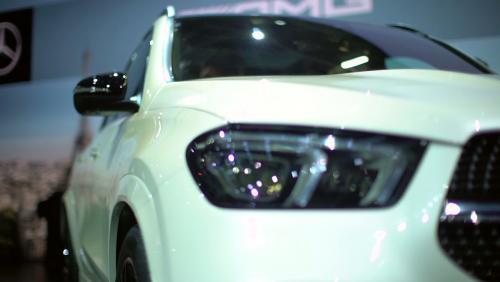 Mondial de l'Auto 2018 : la Mercedes GLE en vidéo