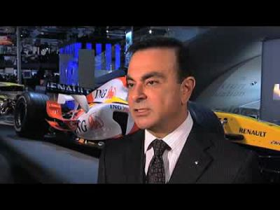 Interview Carlos Ghosn : saison F1 2008