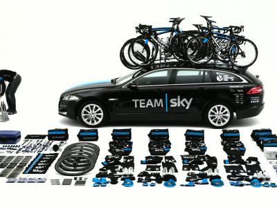 Tour de France : découvrez la Jaguar XF Sportbrake du Team Sky