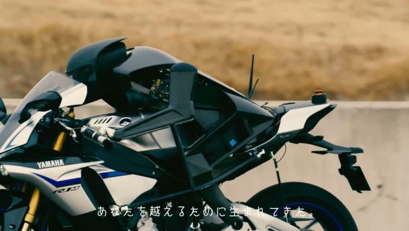 97d96bc49fb Vidéo La moto autonome de Yamaha plus rapide que Valentino Rossi ? -  Autonews