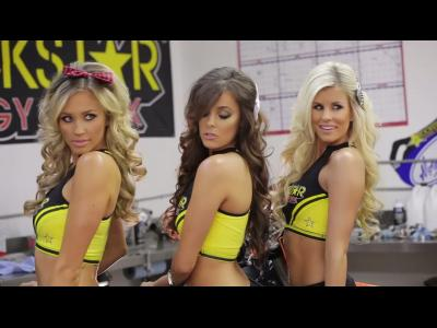 Making Of du Calendrier Rockstar Energy 2014