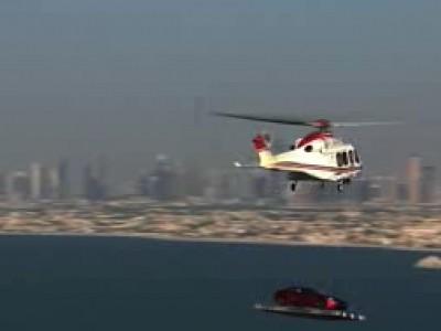 Aston Martin fête ses 100 ans sur le toit du Burj al Arab