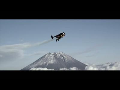 Jetman : premier vol au dessus de l'Asie