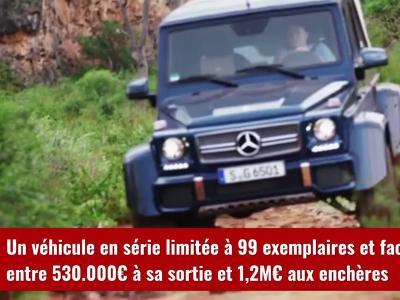 Mercedes-Maybach G 650 Landaulet : LeBron James s'offre le 4x4 le plus cher du monde