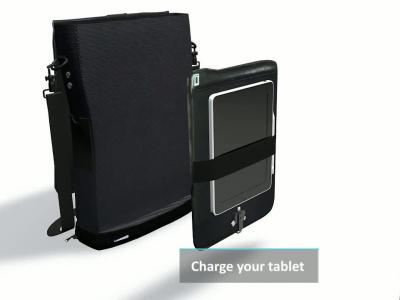 Moovybag : présentation officielle du sac à dos avec batterie intégrée