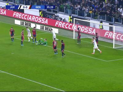 Juventus - Genoa : le résumé et les buts en vidéo