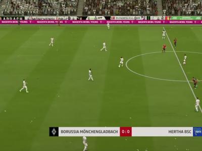 Borussia M'Gladbach - Hertha Berlin sur FIFA 20 : résumé et buts (Bundesliga - 34e journée)