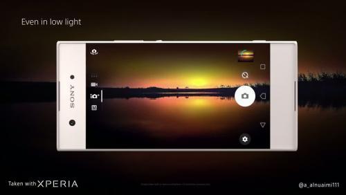 Sony Xperia XA1 : vidéo officielle du smartphone milieu de gamme