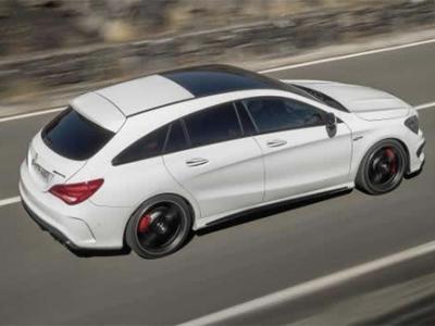 Découvrez pour la première fois le Mercedes CLA Shooting Brake en vidéo