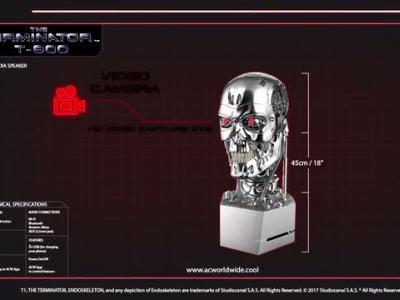 Terminator T-800 : présentation de l'enceinte d'AC Worldwide