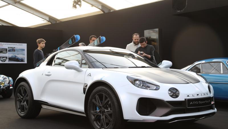 Alpine A110 SportsX : le concept surprise du Festival Automobile sous tous les angles