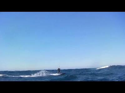 Marseille - Calvi en kitesurf