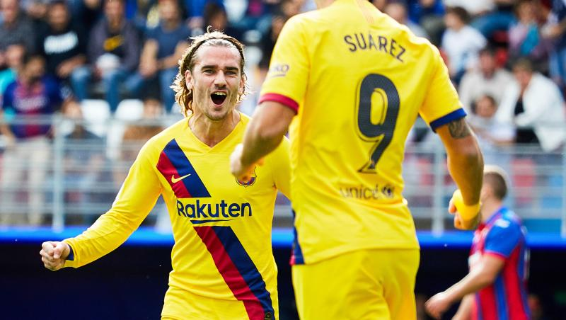 FC Barcelone : la saison 2019 / 2020 d'Antoine Griezmann en chiffres