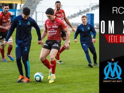RC Toulon : quand les Toulonnais rencontrent les joueurs de l'OM