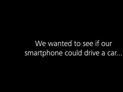 Huawei Mate 10 x Porsche Panamera : le smartphone transforme le véhicule en voiture autonome