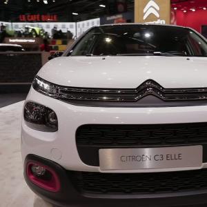 Mondial de l'Auto 2018 : la Citroën C3 Elle en vidéo