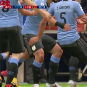 Uruguay - Portugal : notre simulation sur FIFA 18