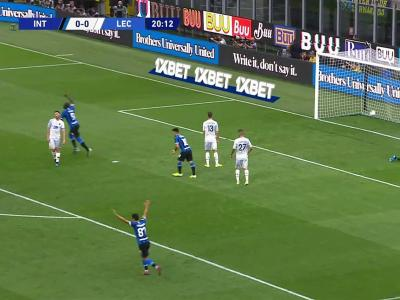Brozovic ouvre le score pour l'Inter Milan !