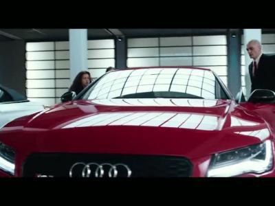 Une Audi RS7 Sportback pour le film Hitman : Agent 47