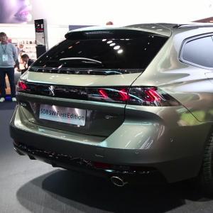 Mondial de l'Auto 2018 : la Peugeot 508 SW en vidéo