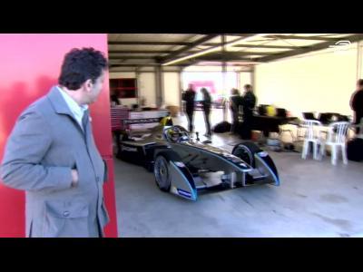 Premiers tours de roues pour la Formule E
