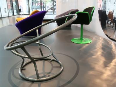 Pierre Paulin, l'exposition au Centre Pompidou