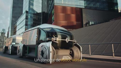 Renault EZ-Pro : vidéo de présentation du véhicule électrique et autonome dédié à la livraison