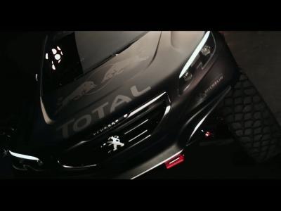 Le spectaculaire Peugeot 2008 DKR se dévoile