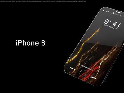 iPhone 8 - concept par Matteo Gentile
