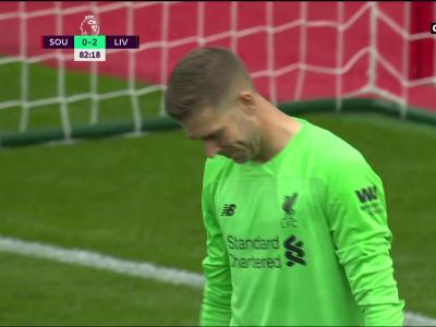 Southampton - Liverpool : la bourde de Adrian