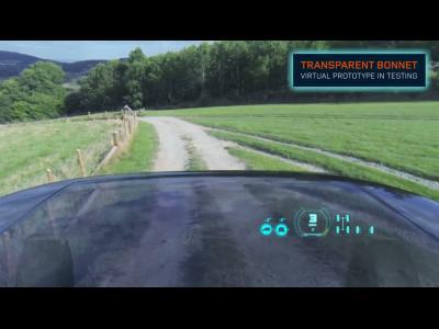 L'étonnant capot transparent du prochain Land Rover Discovery