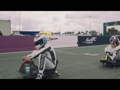 Aston Martin Racing réinvente les 24 Heures du Mans en Crazy Carts