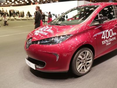 Mondial 2016 : Renault Zoé LR