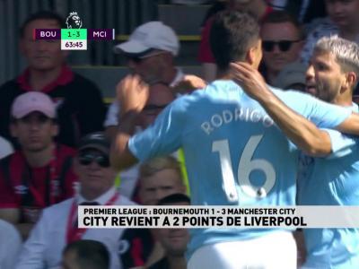 Premier League - 3ème journée : Le résumé de Bournemouth / Manchester CIty