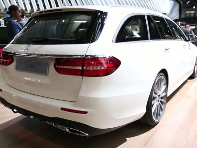 Mondial 2016 : Mercedes Classe E Estate