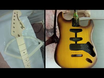 A Strat is born par Fender