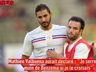 La réponse cinglante de Benzema à Valbuena