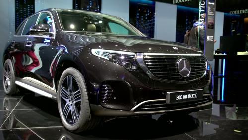 Mondial de l'Auto 2018 : la Mercedes EQC en vidéo