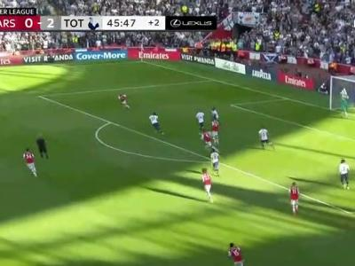 Arsenal - Tottenham : le but d'Alexandre Lacazette