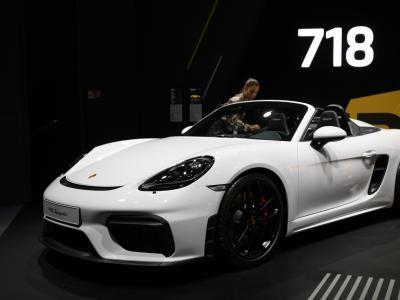 Porsche 718 Spyder : notre vidéo au Salon de Francfort