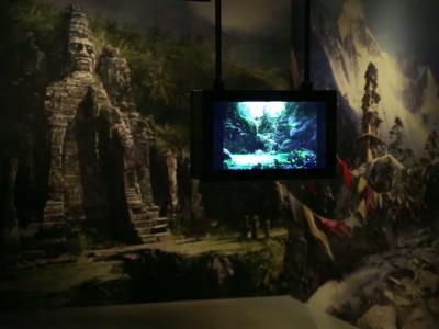 L'Art dans le jeu vidéo, l'inspiration française, visite guidée