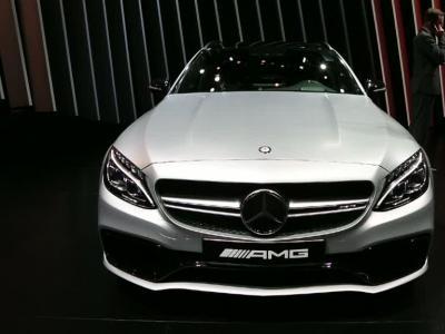 Mondial Auto 2014 : Mercedes C63 AMG