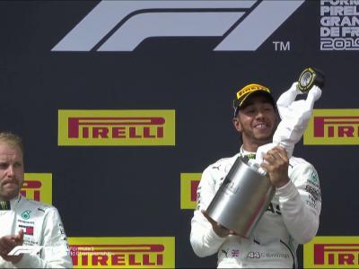 Grand Prix de France de Formule 1 : le podium