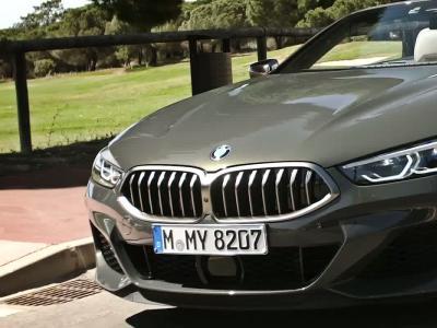 BMW Série 8 Cabriolet : la vidéo officielle de l'essai