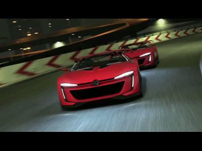 Le Volkswagen GTI Roadster Vision Gran Turismo en vidéo