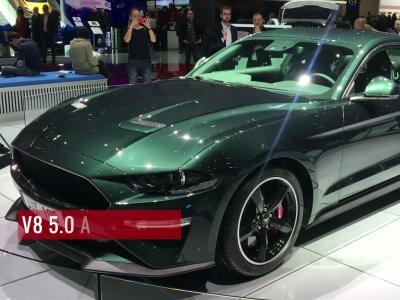 La Ford Mustang Bullitt en vidéo depuis le salon de Genève 2018